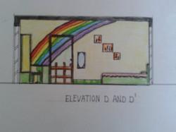 Children Bedroom Elevation _3