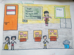kids subject drawing, my classroom