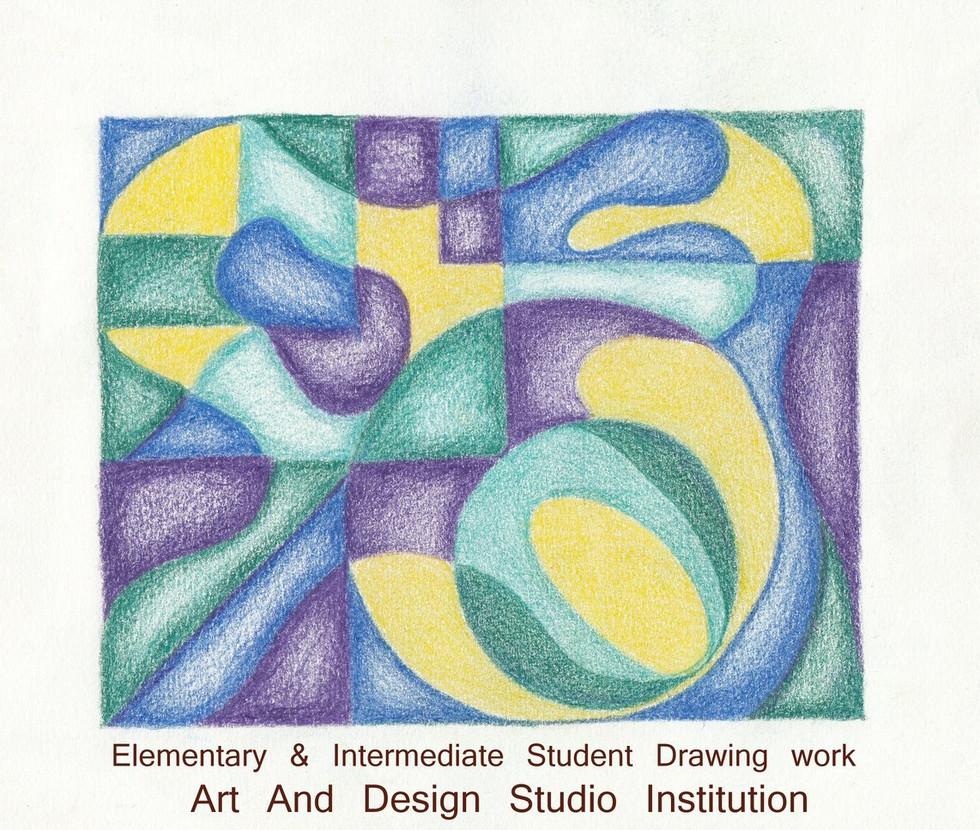 Elementary & Intermediate Drawing grade