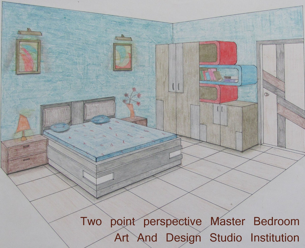 Two point perspective Master Bedroom.jpg