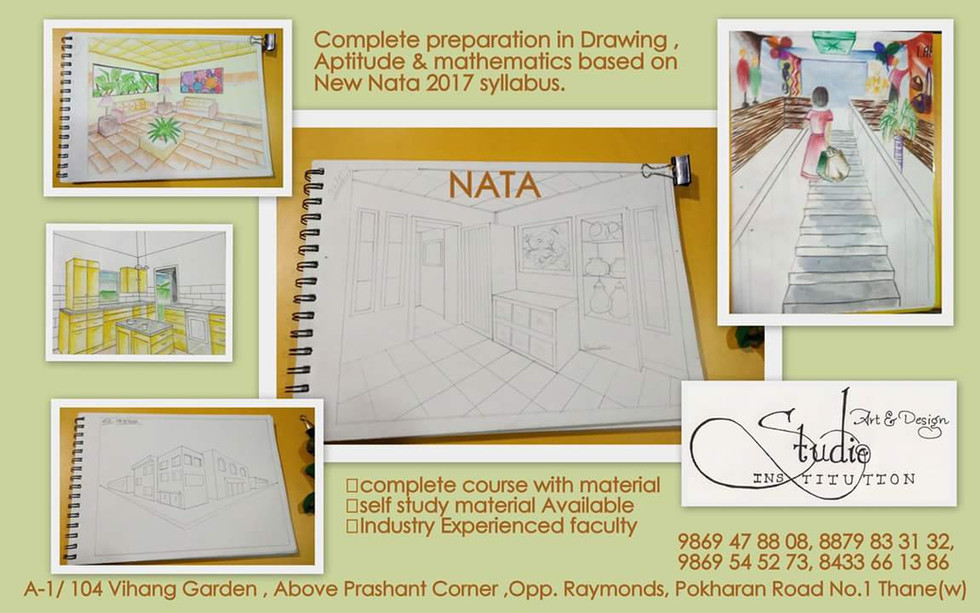 NATA Training Center , Art & Design Stud