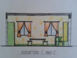 Children Bedroom Elevation _2