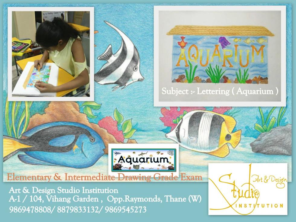 Aquarium Lettering ,  students  work.jpg
