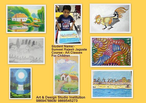 Sumeet  Jagushte Drawing Work   Course