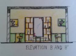 Children Bedroom Elevation _4