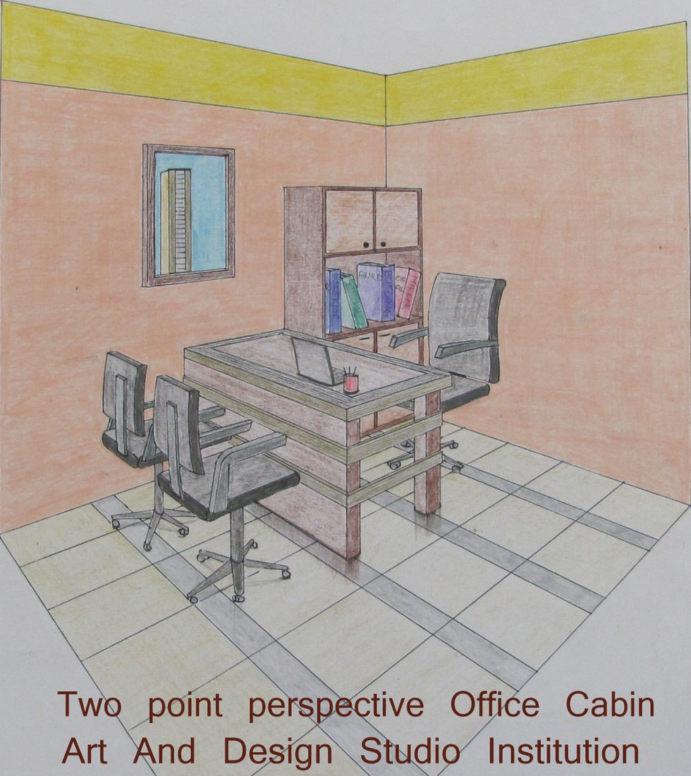 Two point perspective Office Cabin.jpg