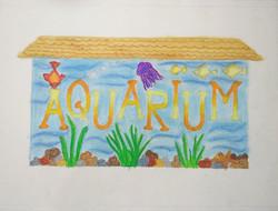 Aquarium Lettering ,