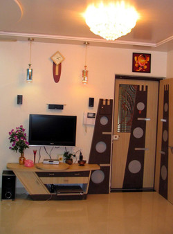TV Units & Safety Door design With light