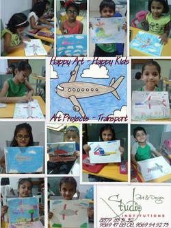 Transport, Sketching Drawing, Kids  Drawing Classes