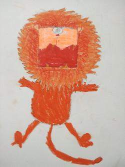 Lion,  Kids  Drawing Class