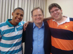 Israel Salazar e Marcos Witt