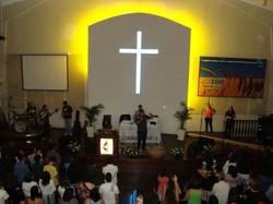 Ministração na Igreja Metodista
