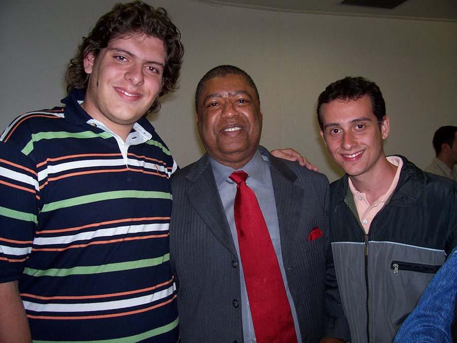 Ron Kenoly e Rodrigo Saab