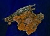 Mallorca vue du ciel