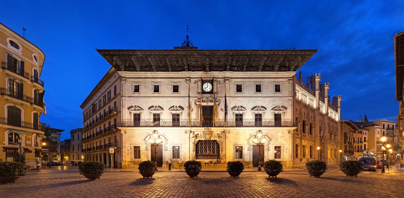L'hôtel de ville de Palma
