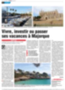 Article sur AZ Property Hunter Malloca dans le journal Belge La DH.