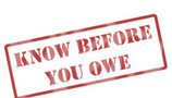 Right to Know What You Owe