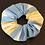 Thumbnail: Haargummi gelb hellblau weiss