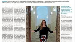 Women's project / Frauenprojekt in Samarkand