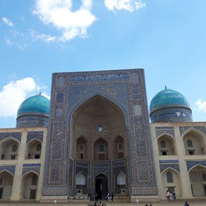 Top sights in Bukhara / Top Sehenswürdigkeiten in Buchara