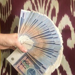Uzbek currency / Usbekische Währung