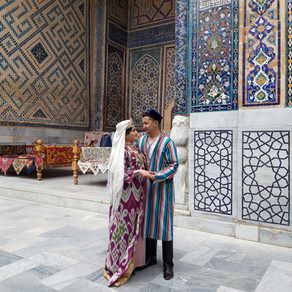 I LOVE YOU in Uzbek / ICH LIEBE DICH auf Usbekisch