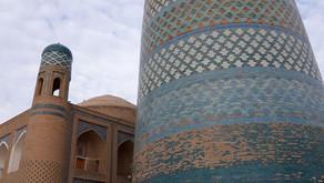 Top sights in Khiva / Top Sehenswürdigkeiten in Chiwa