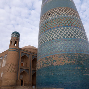 Top sights in Khiva / Top Sehenswürdigkeiten in Chiwa