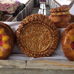 Samarkand bread / Samarkander Brot