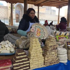 Usbekisch: Einkaufen auf dem Bazar