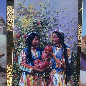 Uzbek Family / Usbekische Familie