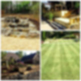 hardscape and landscape and lawn care