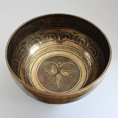 Large Fancy Singing Bowl