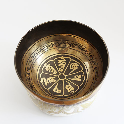 Medium Fancy Singing Bowl