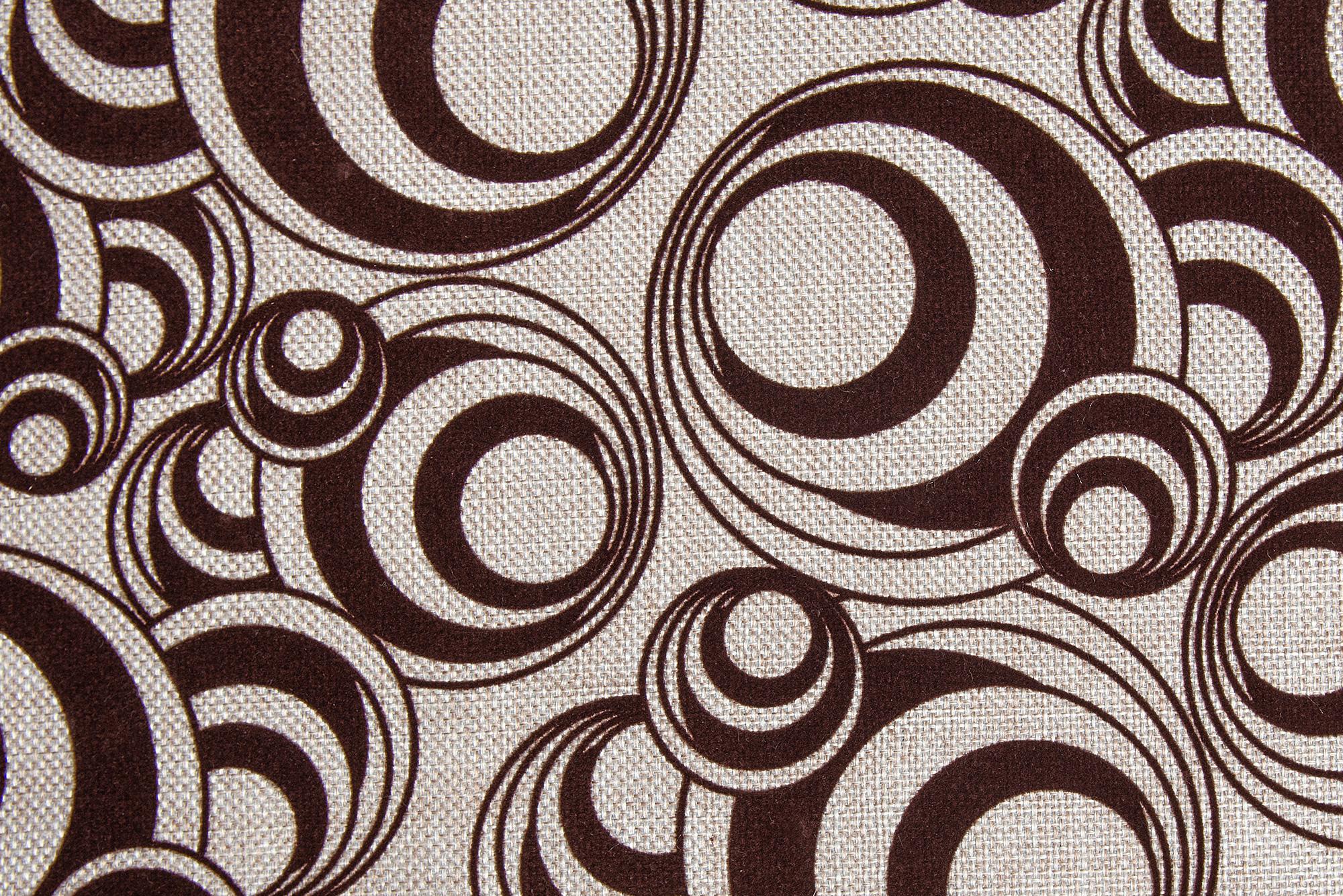 Круги--коричневый