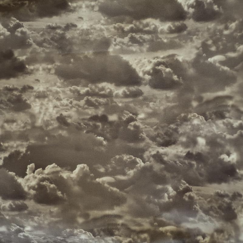 Париж облака - серый