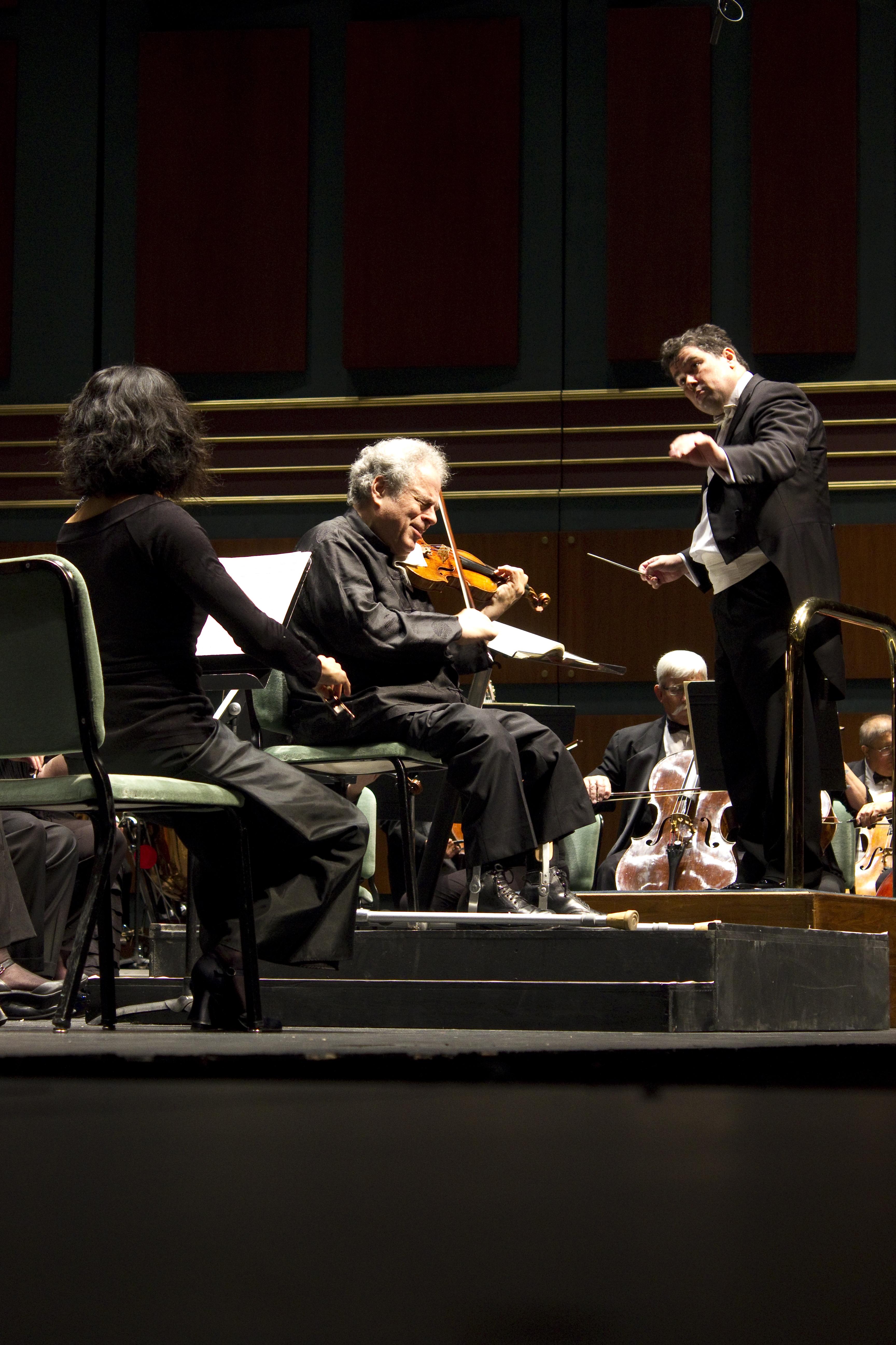 Itzak Perlman and Eugene Symphony