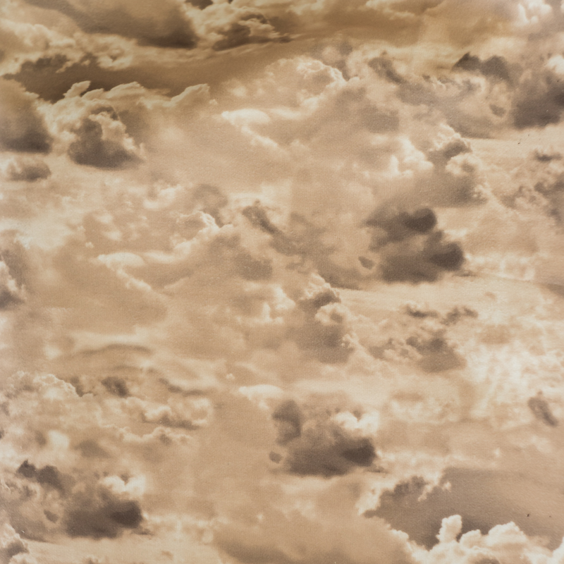 Париж облака - бежевый