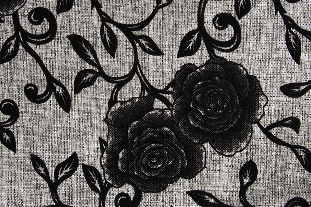 Розы - серый