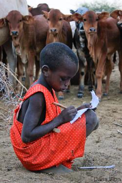 Masaai Child Pen