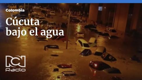 Los Arrayanes in Cúcuta  unter Wasser