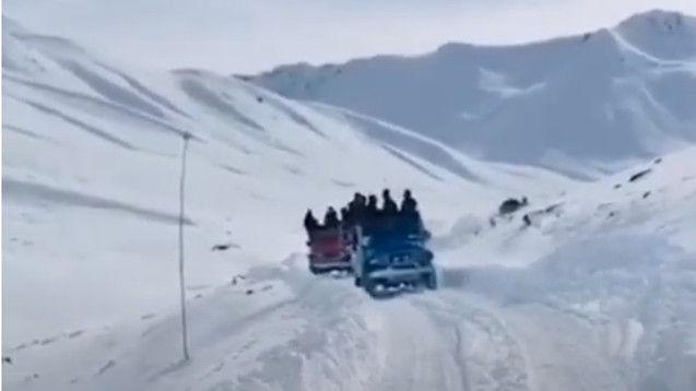 Schneegenuss Gilgit Baltistsn, Pakistan