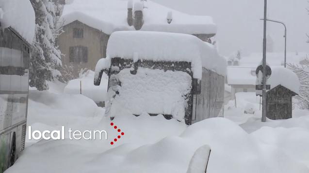 Val di Zoldo im Schnee