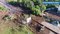 Aus der Luft: Video des Erdrutsches in Nejapa