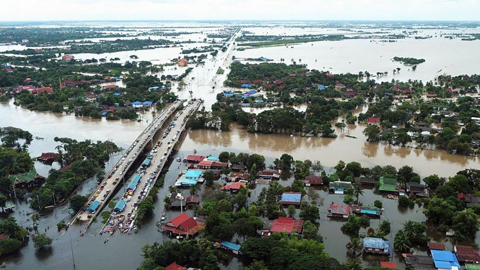 Flut in Thailand