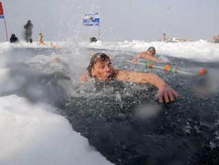 Ice, Shivers, Winter and Front Crawl