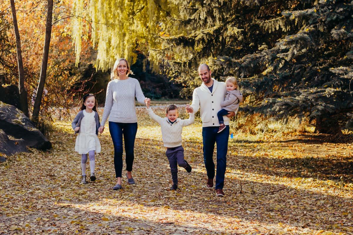 Boise Famiy- Fall Walking