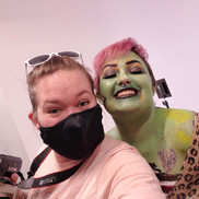 Body Paint Selfie