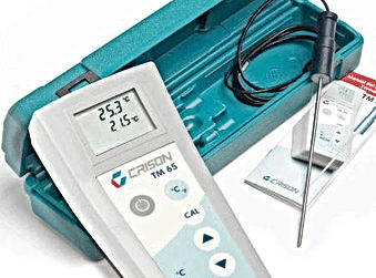 Portable thermometer TM 65, Crison Instruments