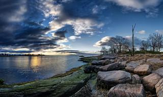 Chaffinch Island Sunrise